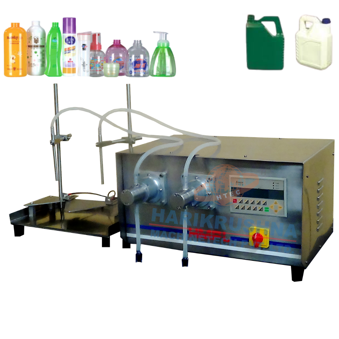 Semi Automatic TImer Filling Machine - Harikrushna Machinetech
