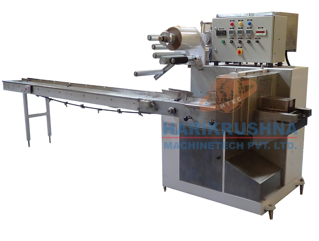 Horizontal Flow Wrapping Machine - Harikrushna Machinetech