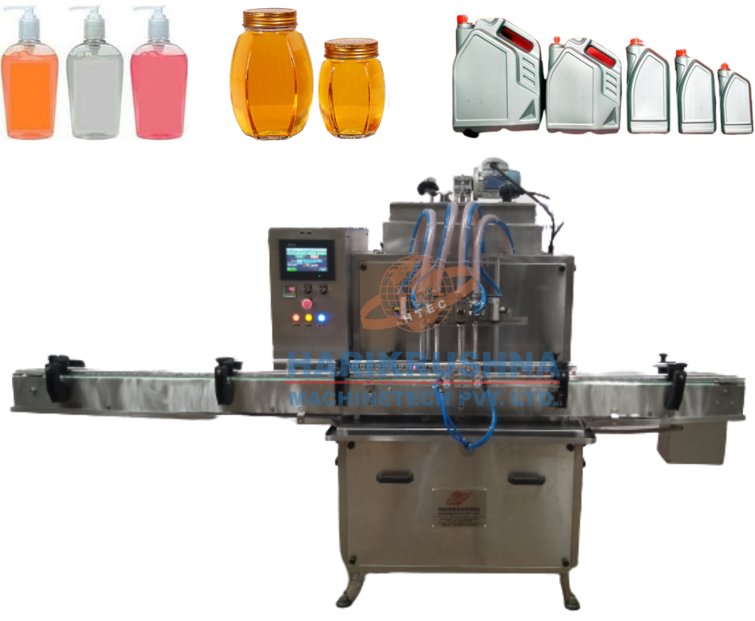 Automatic Servo Liquid Filling Machine