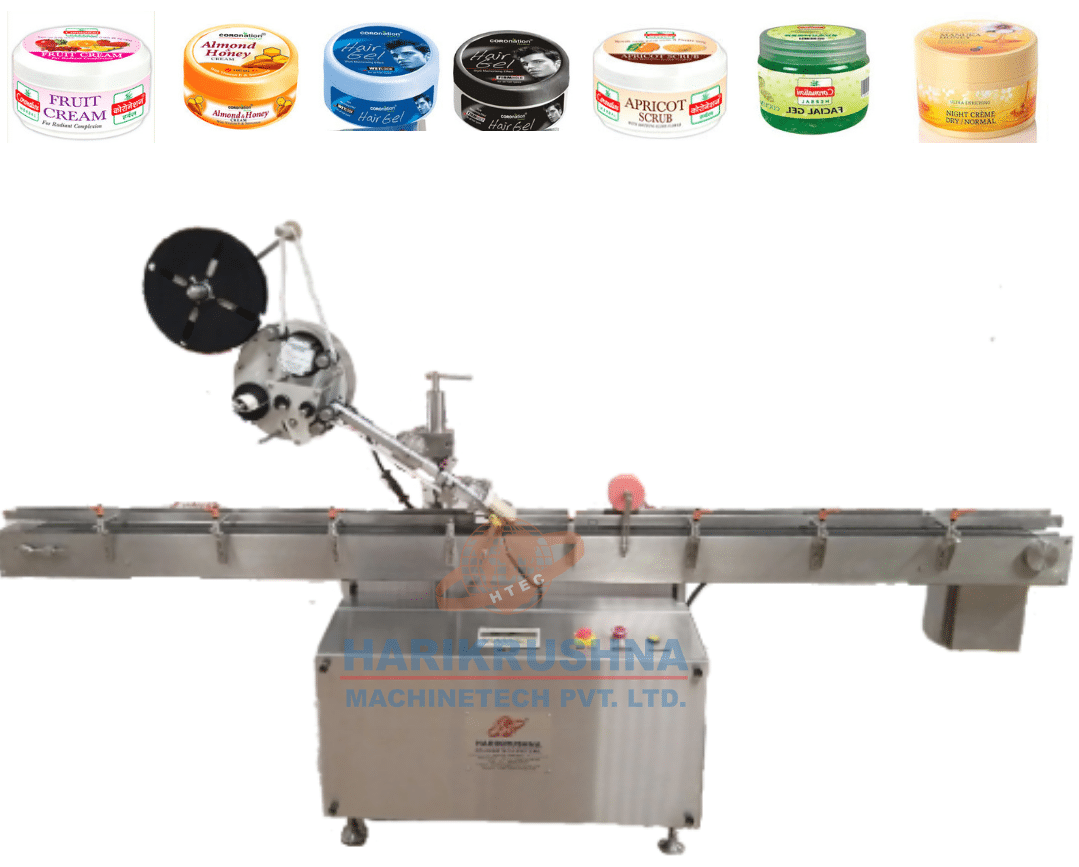 Automatic Front Back & Top Side Sticker Labeling Machine