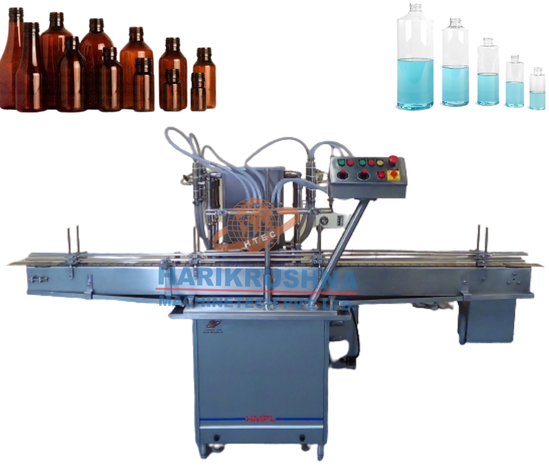 Bottle Filling Machine - VOLUMETRIC LIQUID FILLING MACHINE