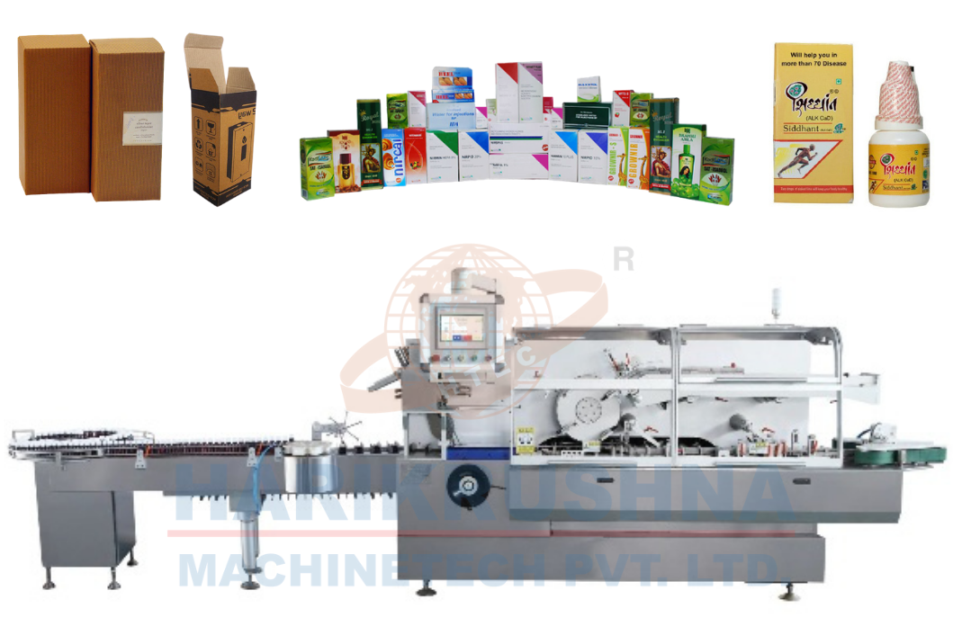Automatic Cartoning Machine - Harikrushna Machinetech