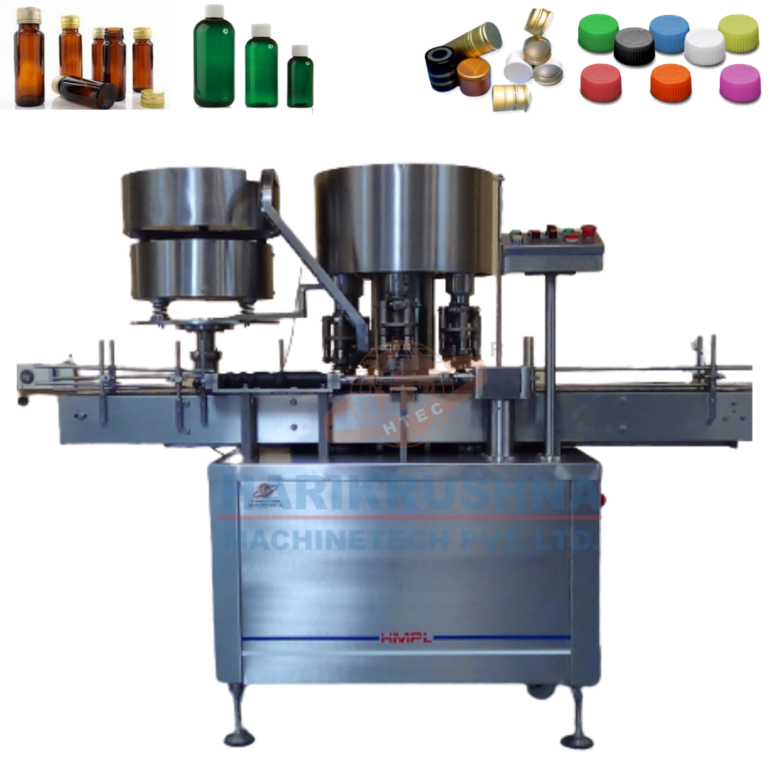 Rotary Ropp Screw Cap sealing Machine