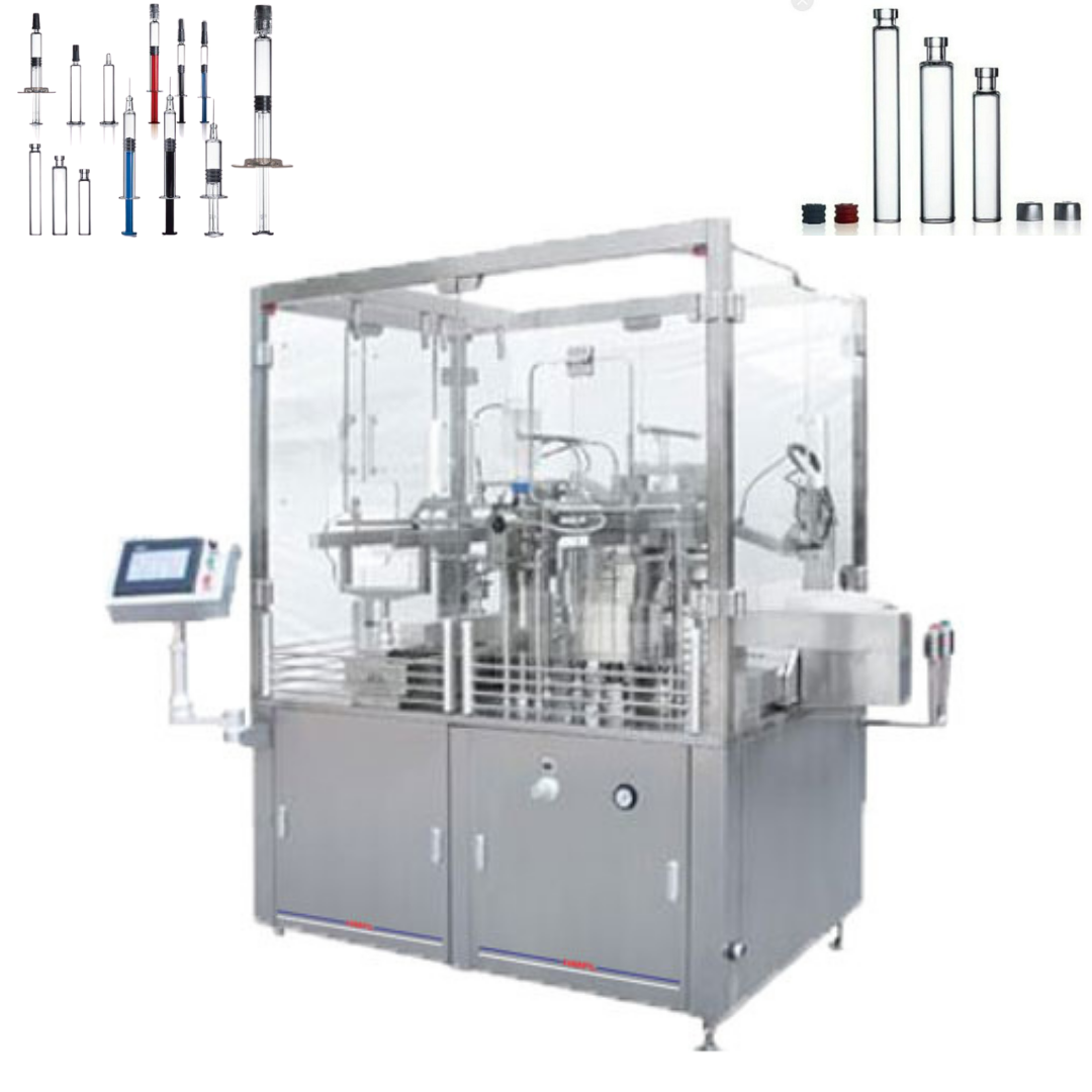 Pre-Filled Syringe Filling Machine- Harikrushna Machinetech