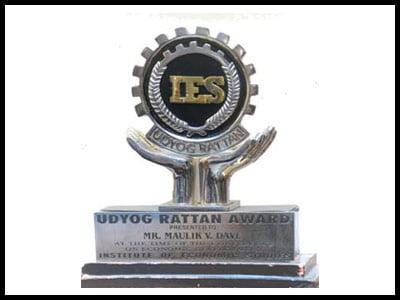 Udyog Rattan Award - - Harikrushna Machinetech Pvt. Ltd.