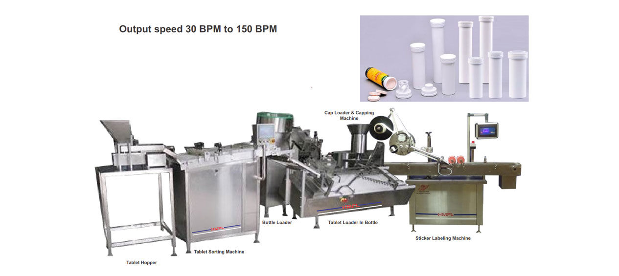 Tablet Packaging Line - - Harikrushna Machinetech Pvt. Ltd.