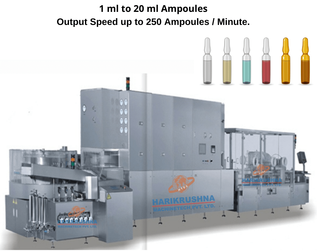 Ampoule packing line