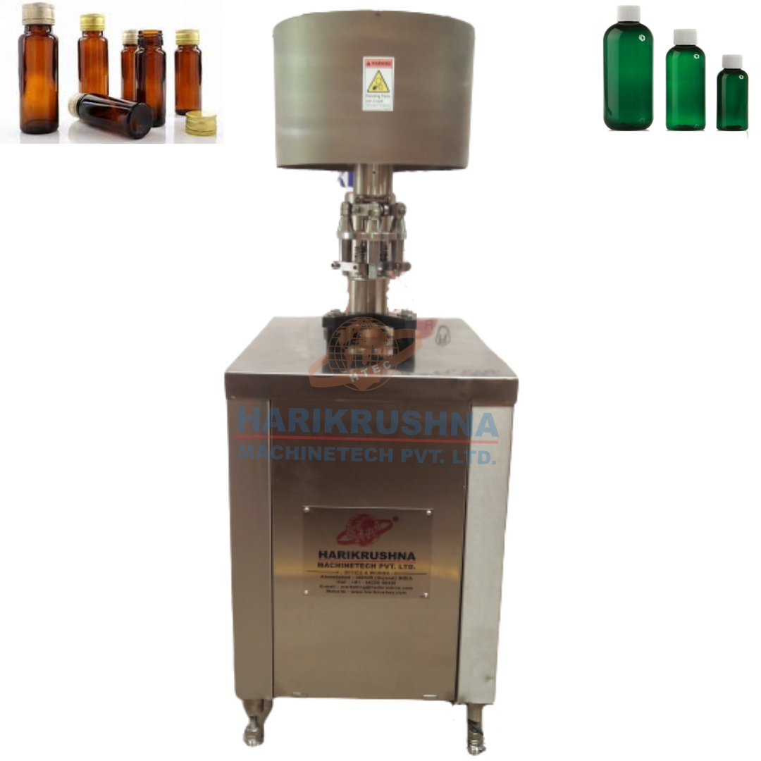 SEMI-AUTOMATIC ROPP/SCREW CAP SEALING MACHINE