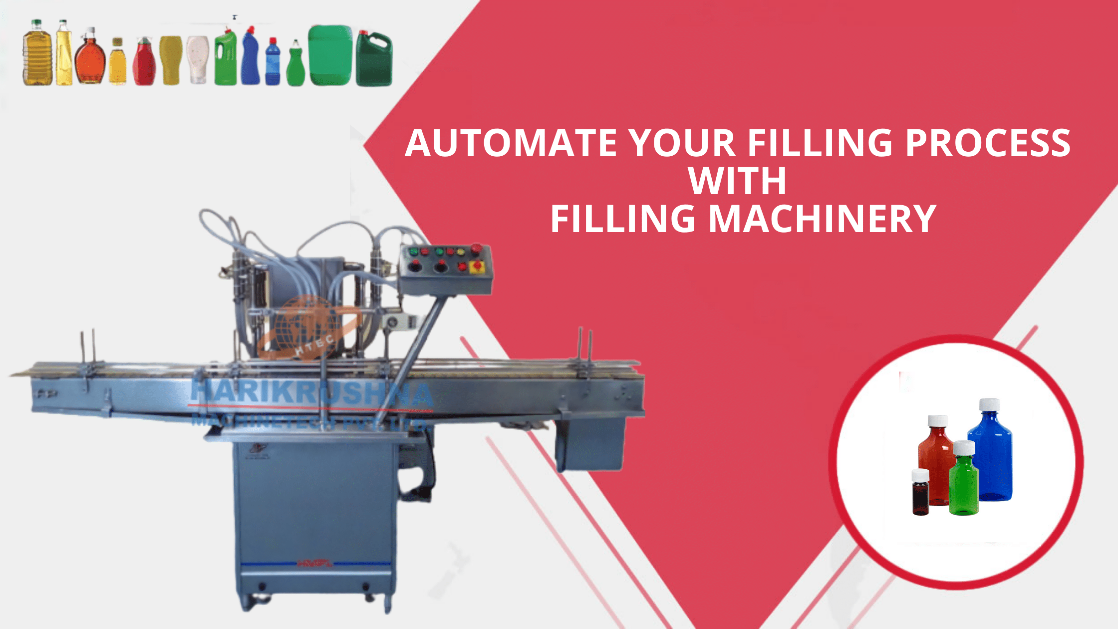 Automate Your Filling Process with Filling Machinery - Harikrushna Machines Private Limited