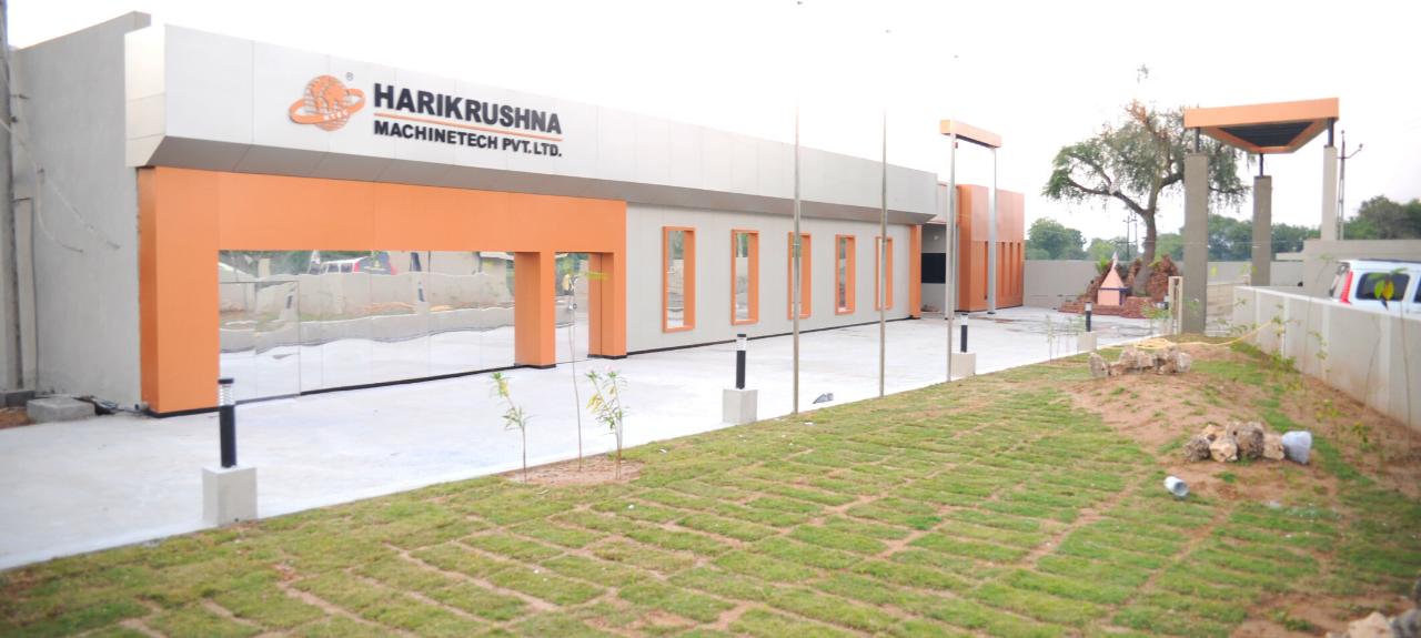 Nadiad Factory - Harikrushna Machines Pvt. Ltd.